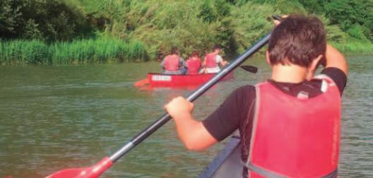 Descenso en canoa por el Urumea