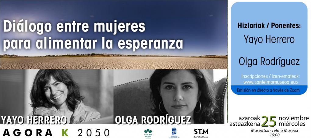 Conferencia AGORA K2050: Diálogo entre mujeres para alimentar la esperanza