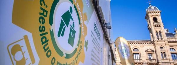 9 agentes del clúster guipuzcoano de reutilización y reciclaje muestran qué productos fabricar a partir de los residuos Cristina Enea Fundazioa