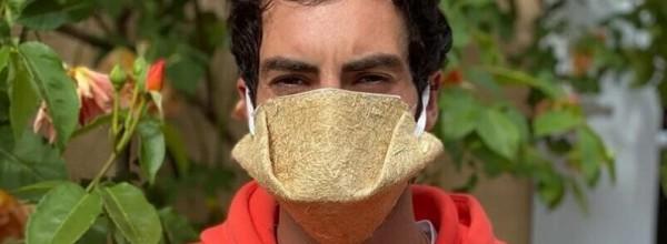Europako lehen maskara konpostagarria kalamu-zuntzez egina dago Cristina Enea Fundazioa