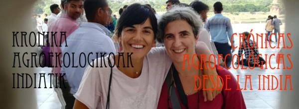 Crónicas agroecológicas desde la India Cristina Enea Fundazioa