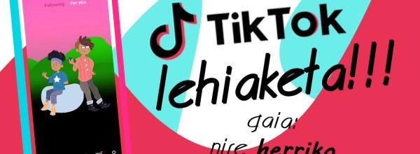 I. Concurso Tik Tok de Cristina Enea Cristina Enea Fundazioa