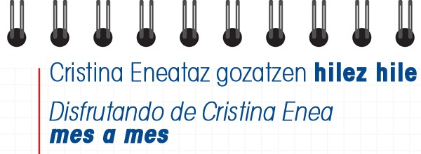 Cristina Eneataz gozatuz hilez hil Cristina Enea Fundazioa